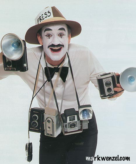 Photographer Mime