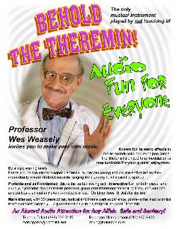 Prof. Weasely and His Theremin Flyer